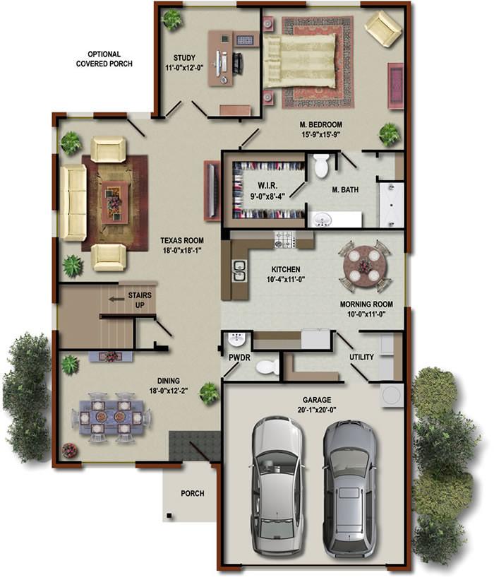 Six Corners floorplan 3