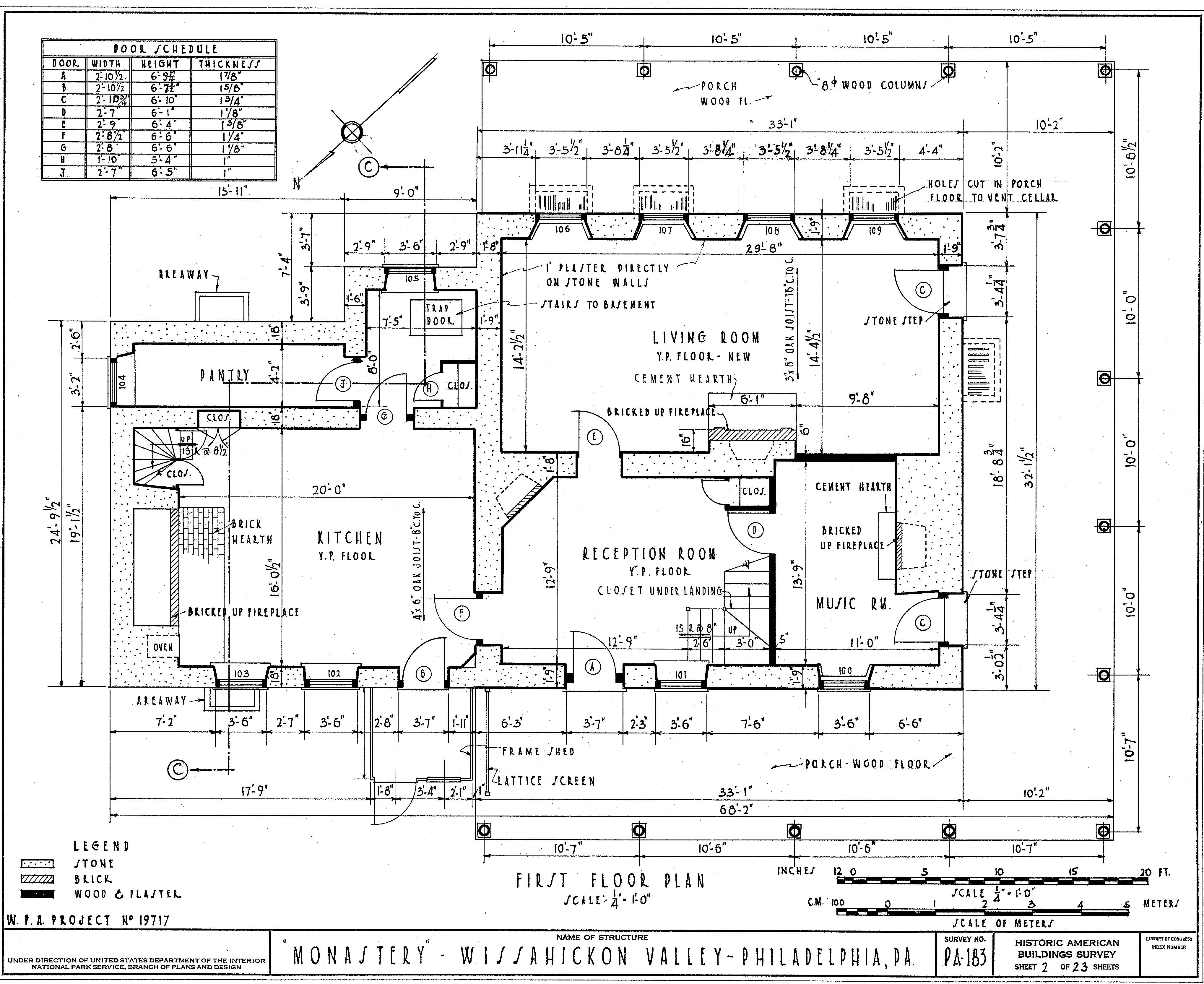 Moonbeams floorplan 4
