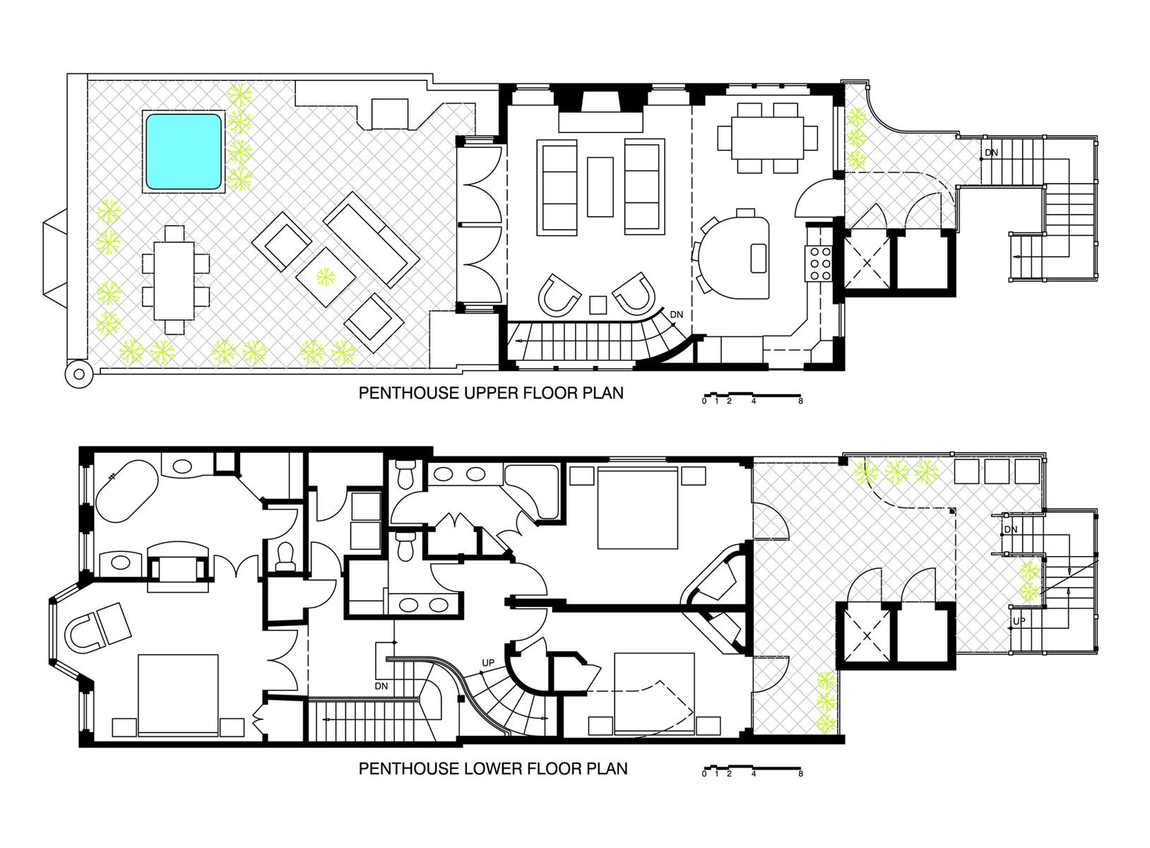 Unique Cottage floorplan 3