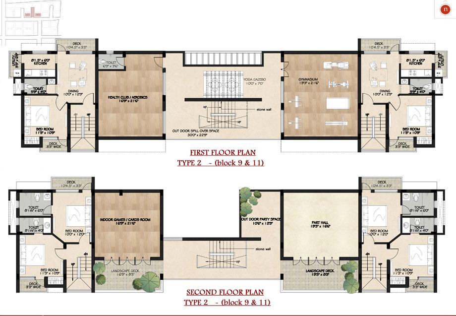 Beautiful Scenery floorplan 2