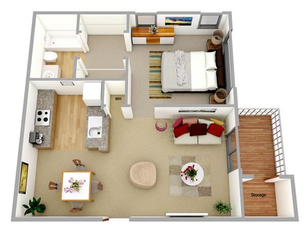 Five Steps floorplan 3