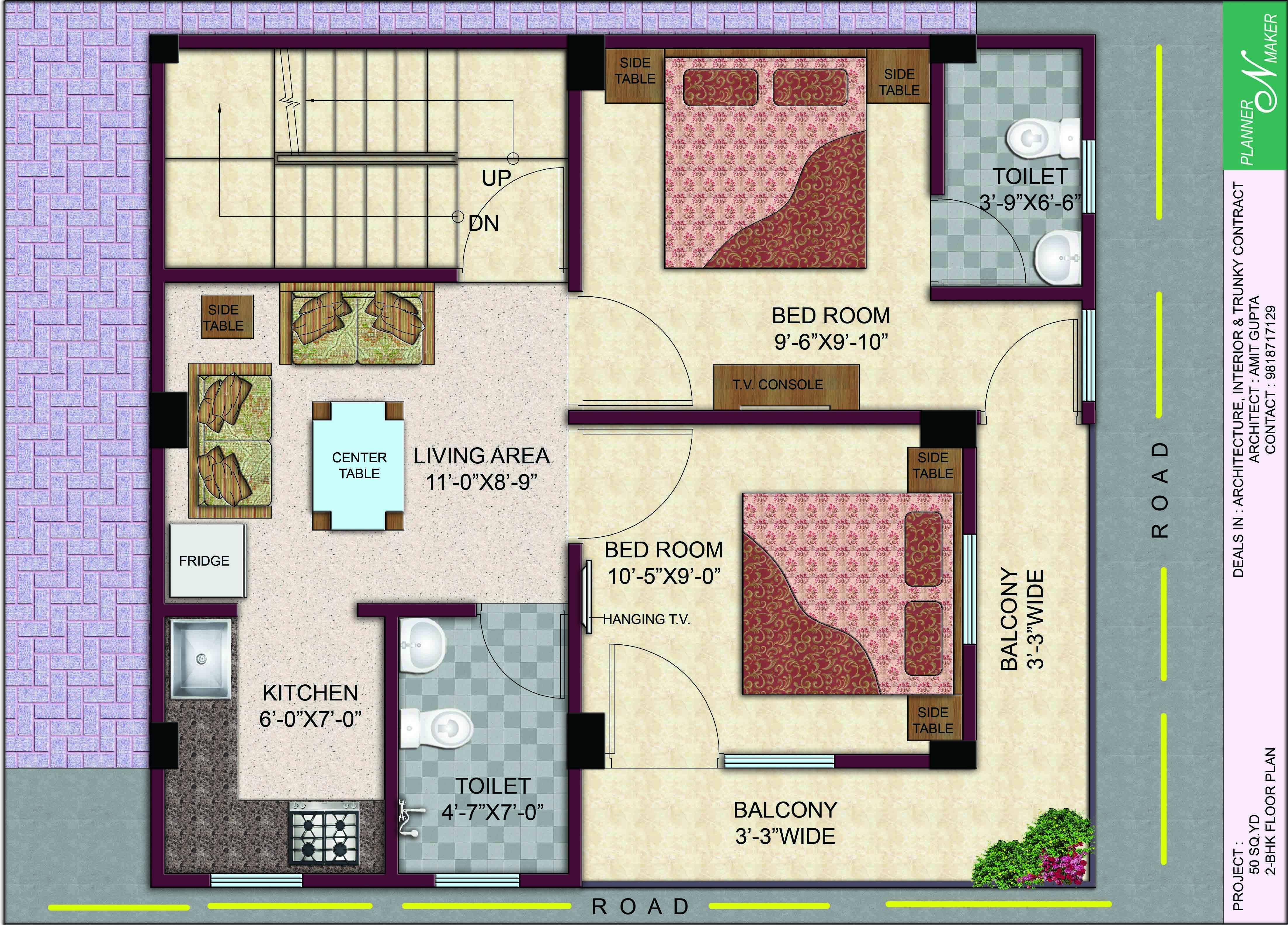 Six Corners floorplan 2