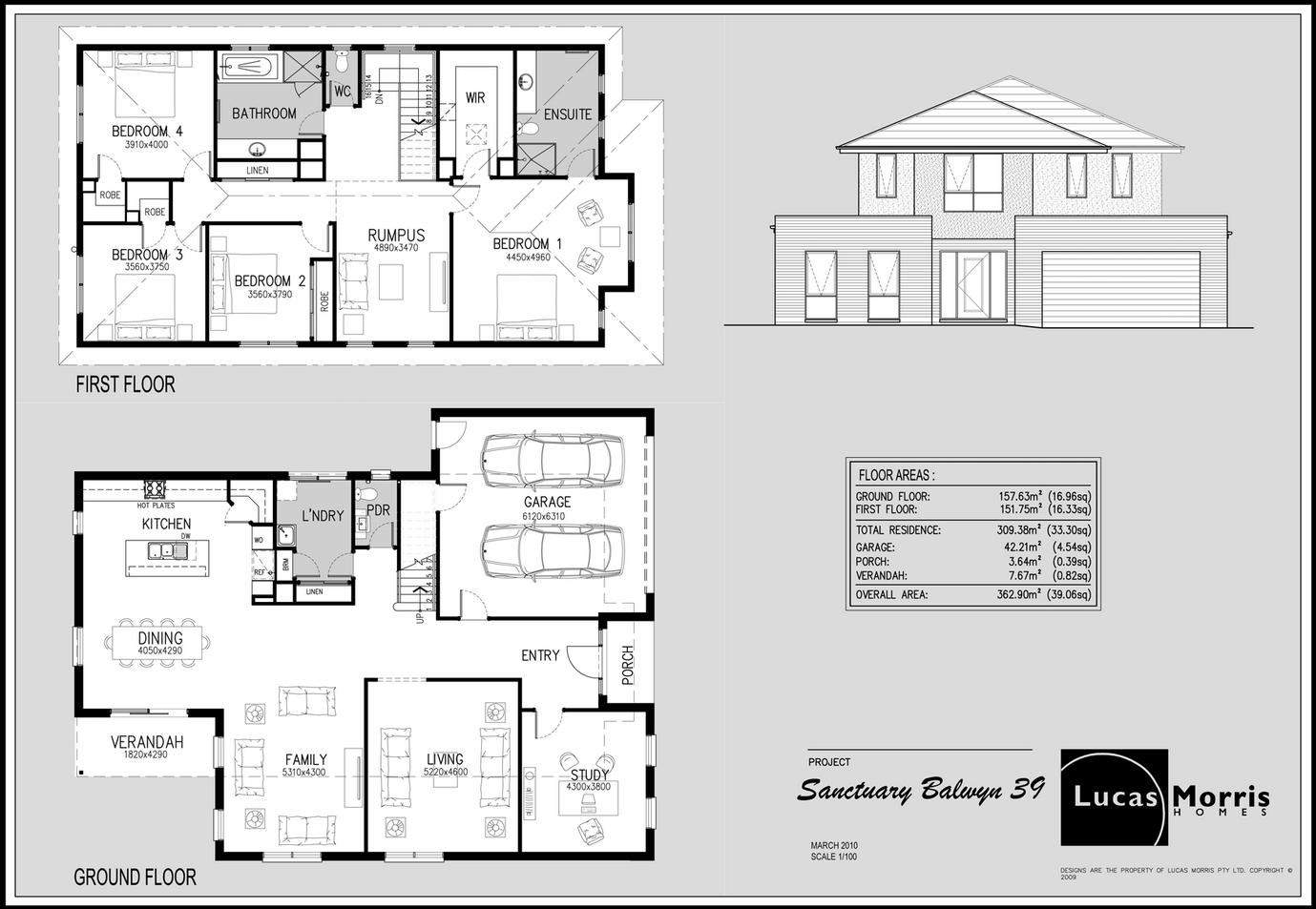Red Shutters floorplan 4