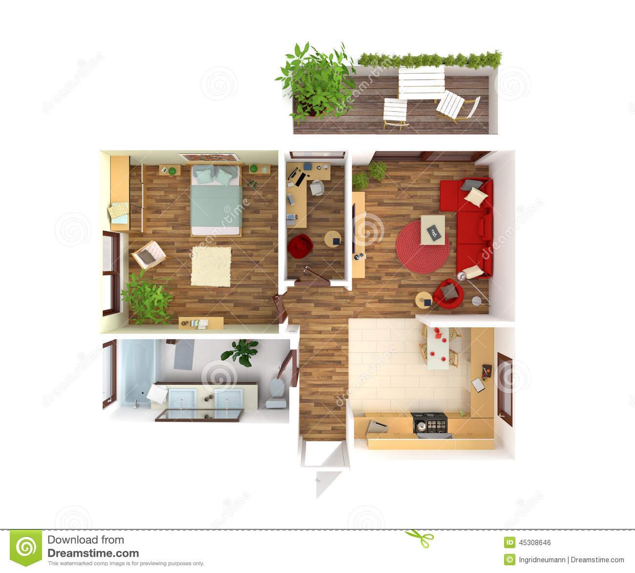 Nurse's Cottage floorplan 4